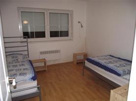 Apartmán A - ložnice s lůžky