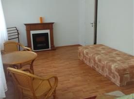 Apartmán B - ložnice s lůžky