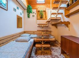 Loft ložnice