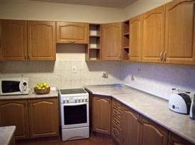 Kompletně vybavená kuchyně