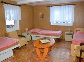 3-lôžková spálňa