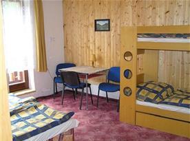 Pokoje s patrovými postelemi