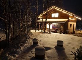 Chata Chopok v zimě