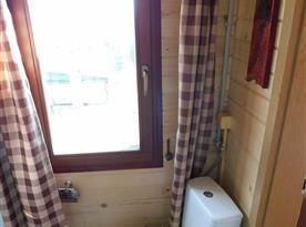 Koupelna s toaletou - chata Slivka