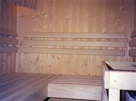 Sauna v chalupě