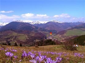Pohled na okolní krajinu