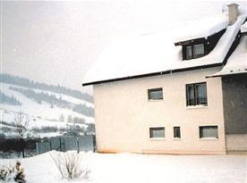 Zimní pohled na apartmán