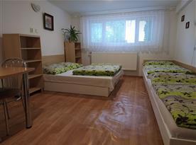 Ložnice s kuchyňským koutem