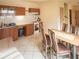 Kuchynská časť.