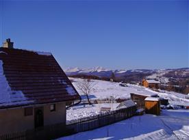 Krásný výhled na Vysoké Tatry