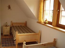 Apartmán A - ložnice