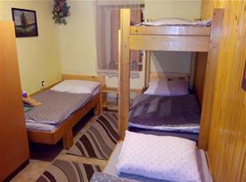 Pokoj s poschodovou postelí