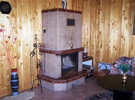Krb v obývacím pokoji