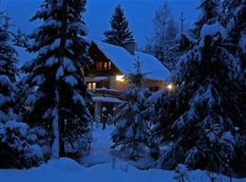 Chata pod Magurou v zimě