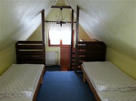 Podkrovní galerie se spaním