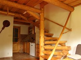 Točité schody do podkroví