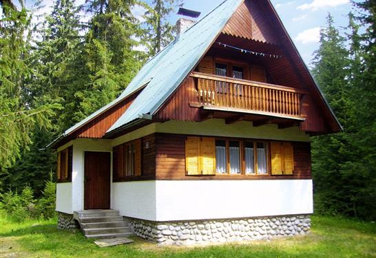 Chata V lese, v blizkosti rieky Belá Vysoké Tatry
