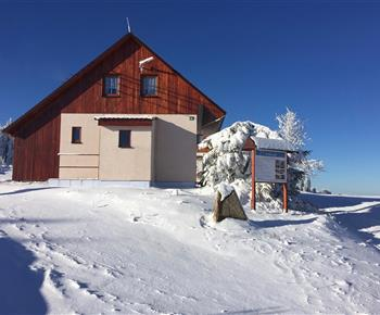 Chata Na bílé stopě Horní Blatná